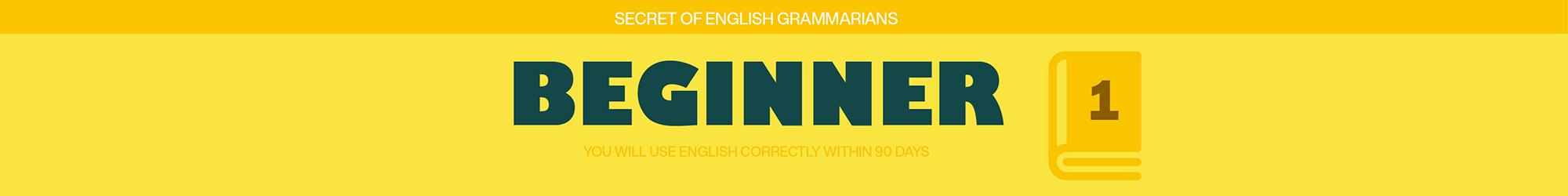 BASIC ENGLISH GRAMMAR banner
