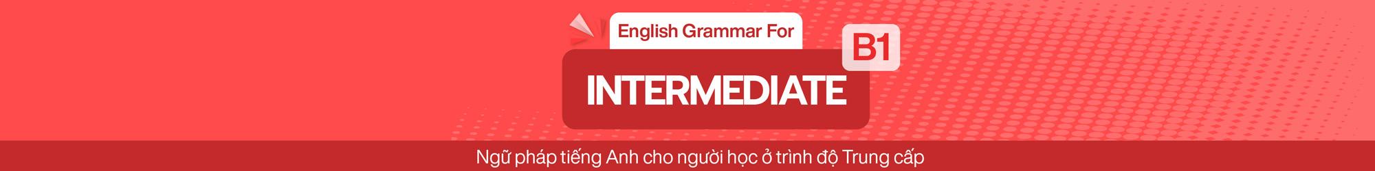 English Grammar For Intermediate (B1) banner