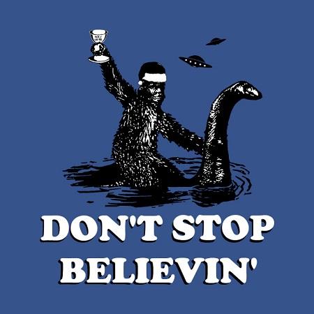 'Don't stop believin'