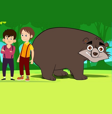 Two Friends And The Bear