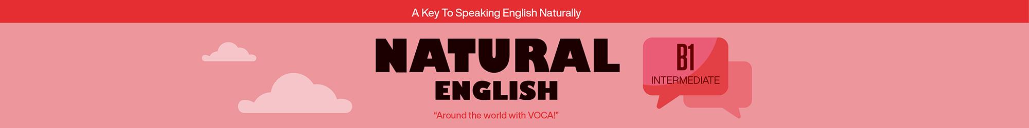 NATURAL ENGLISH B1 banner