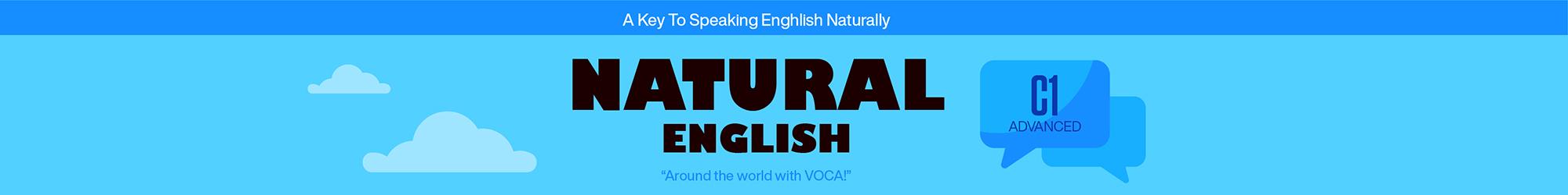 NATURAL ENGLISH C1 banner
