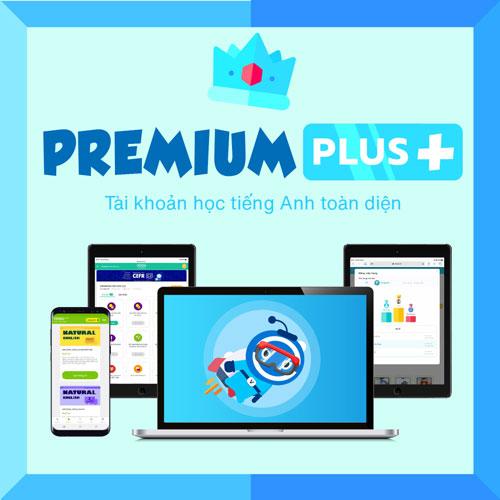 VOCA PREMIUM PLUS+: Tài khoản học tiếng Anh toàn diện, không giới hạn - giúp Thành thạo 4 kỹ năng (Nghe + Nói + Đọc + Viết) - Thư viện 500+ khoá học tiếng Anh cao cấp - Thời gian sử dụng 36 tháng - Hỗ trợ trên cả Máy tính, Smartphone