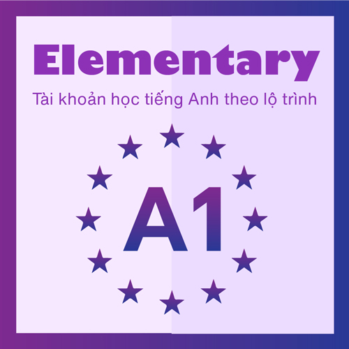 VOCA A1 (FOR ELEMENTARY) | TIẾNG ANH TRÌNH ĐỘ SƠ CẤP