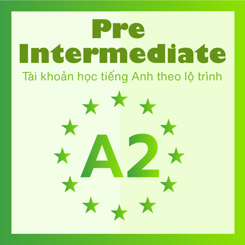 A2: For Pre Intermediate