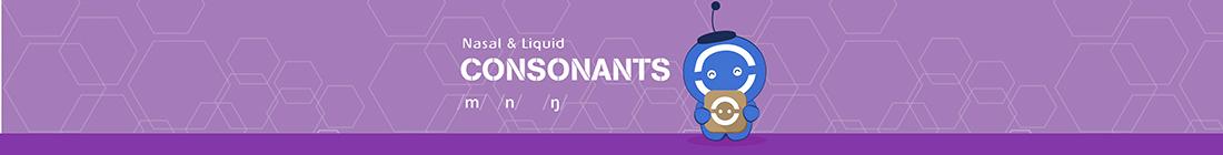 Nasal & Liquid Consonants banner