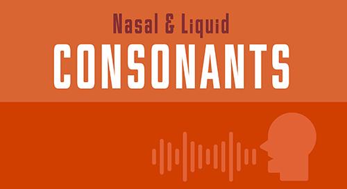 Nasal & Liquid Consonants