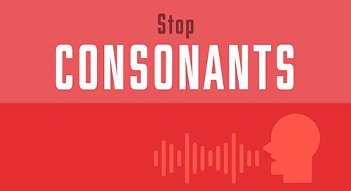 Stop Consonants