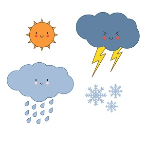 Unit 18 (Lesson 1) - What will the weather be like tomorrow?