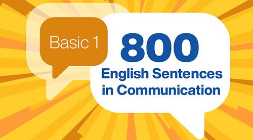 800 English Sentences in Communication (Basic 1)