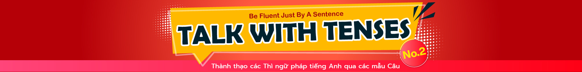 Talk with Tenses (No.2) banner
