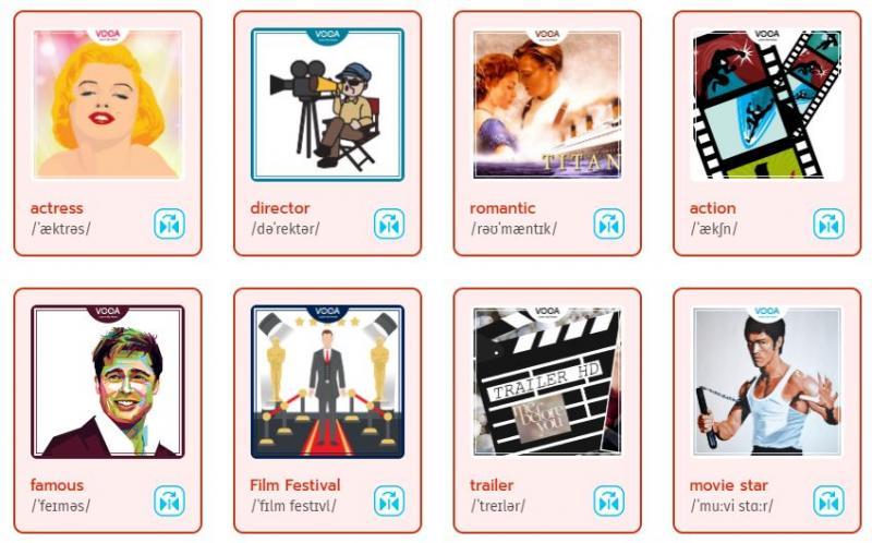 3000 từ vựng tiếng Anh thông dụng theo chủ đề phim ảnh