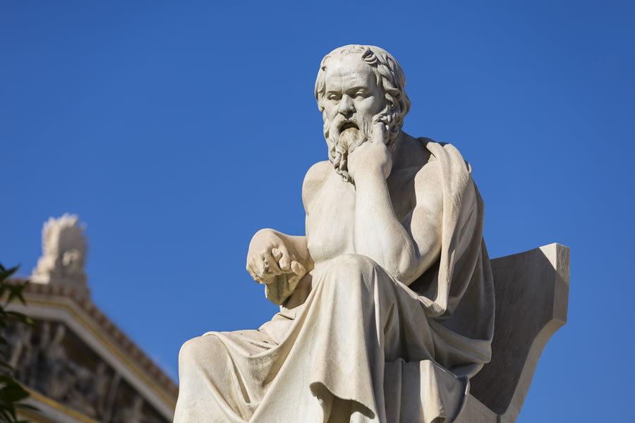 Triết gia Socrates