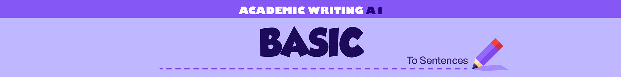 Academic Writing A1 (Basis) banner